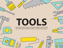 Tool Background Equipment ,vector Royalty Free Stock Photography