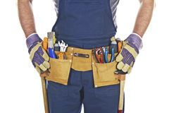 Tool belt Royalty Free Stock Photo