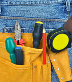 Tool belt Stock Photo