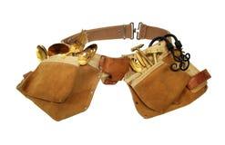 Tool belt of many trades royalty free stock photo