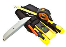 Tool Belt and Tools Stock Image
