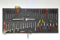 Tool board Royalty Free Stock Images
