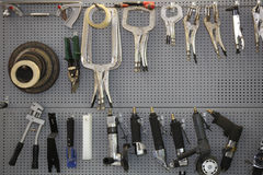 Tool board Stock Images