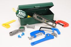 Tool box. Stock Images