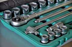 Tool box. With various type of tools Royalty Free Stock Photography