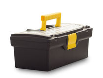 Tool box closed. On white background royalty free stock images