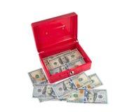 Tool Box and dollars Royalty Free Stock Photo