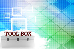 Tool box Illustration Royalty Free Stock Photo