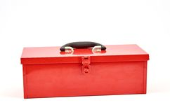 Tool Box. A studio photo of a industrial tool box Royalty Free Stock Photos