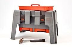 Tool Box. A studio photo of a industrial tool box Stock Photos