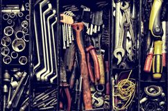 Tool box. Royalty Free Stock Photo