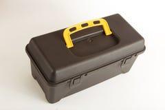 Tool box. On white stock photo