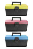 Tool Boxes Royalty Free Stock Photography