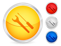 Tool button Stock Photo