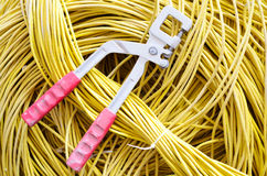 Tool and cable Stock Photography