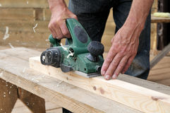 The tool of the carpenter Royalty Free Stock Photography