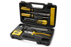 Tool case with tools Stock Photo