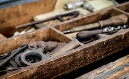 Tool chest Royalty Free Stock Image