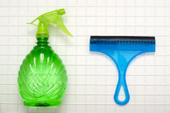 The tool for cleaning Stock Image