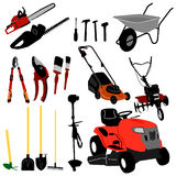 Tool Collection - Vector Royalty Free Stock Photo