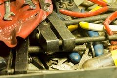 Tool drawer Stock Image