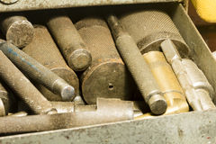 Tool drawer Royalty Free Stock Photography