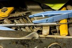 Tool drawer Royalty Free Stock Image