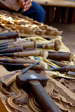 Tool For The Wood Carver Stock Photography