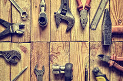 Tool frame. Stock Photography
