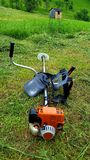 Tool Grass cutter royalty free stock images