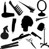 Tool of the hairdresser Stock Photography