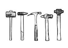 Tool hammer vector illustration Stock Image