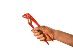 Tool in a hand Royalty Free Stock Images