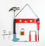 The tool house Stock Image