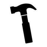 Tool icon image. Hammer tool icon image vector illustration design stock illustration