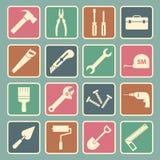Tool icon. Set of tool icon Stock Photo