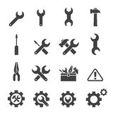 Tool icon set Royalty Free Stock Photography