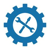 Tool Icon - Vector Illustration - Isolated On White Background Stock Photography