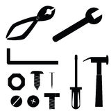 Tool Icons Royalty Free Stock Images