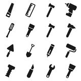 Tool icons2 Stock Images