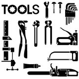 Tool icons set Stock Images