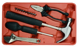 Tool kit box Royalty Free Stock Image