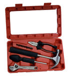 Tool kit box Stock Photography