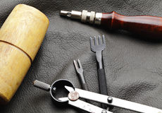Tool for Leather craft Royalty Free Stock Image