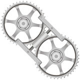 Tool locking gears Stock Photos