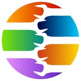 Tool logo. Isolated illustrated silhouette tool logo design vector illustration