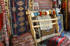 Tool for making carpets. In Cappadocia area Turkey Royalty Free Stock Images