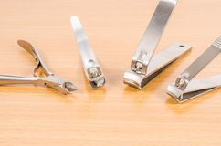 Tool of manicure set Royalty Free Stock Photography