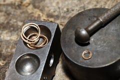 Tool master jeweler closeup Royalty Free Stock Image
