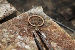 Tool master jeweler closeup Stock Photo
